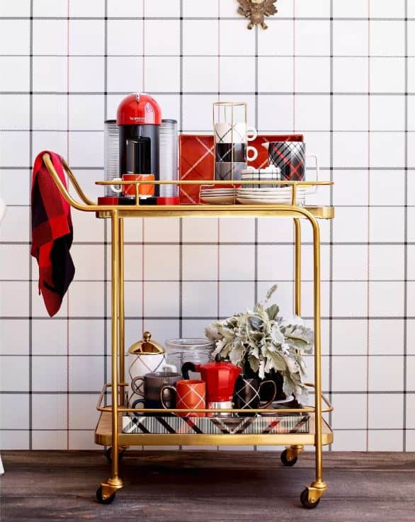 Entertaining hack coffee station
