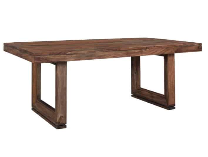 Wood clean lined table