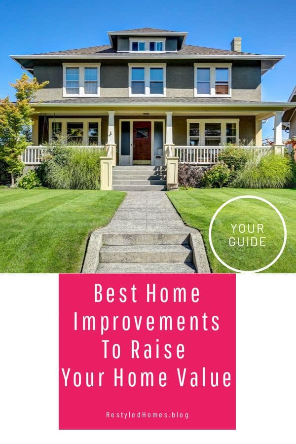 Curb appeal tips and home projects
