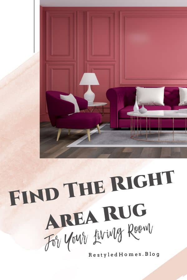Find the right area rug