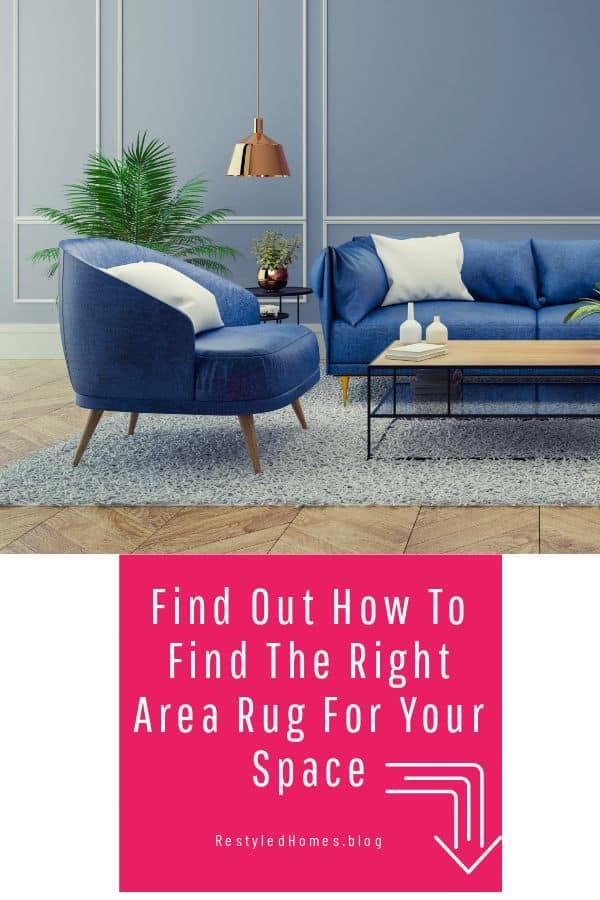 Right area rug for your space