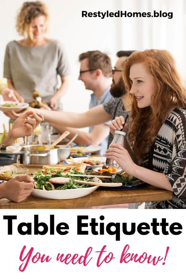 Table Setting Diagram and Dinner Etiquette Reminders. We'll be discussing table settings for parties, every day, and easy ways to create a tablescape.