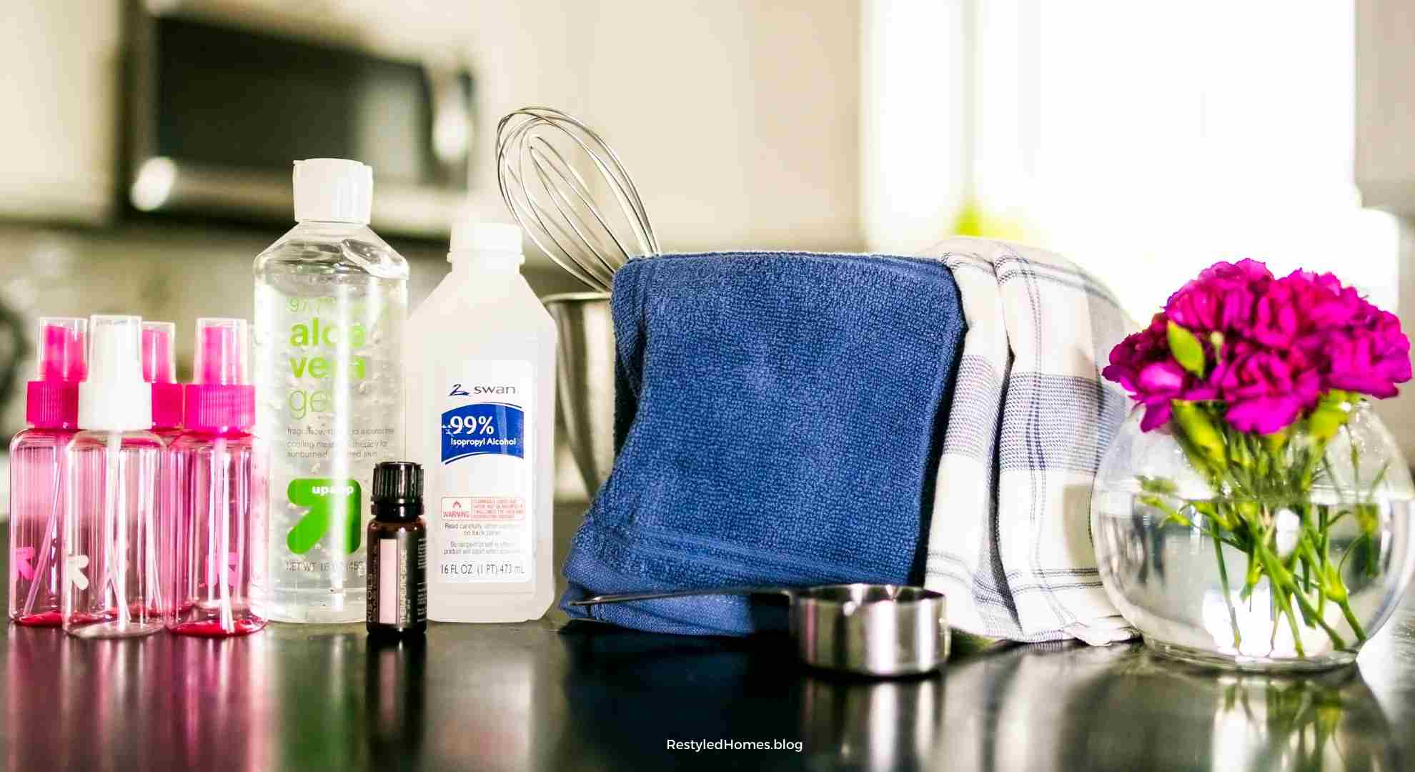 DIY Hand Sanitizer Recipe | Easy Recipe